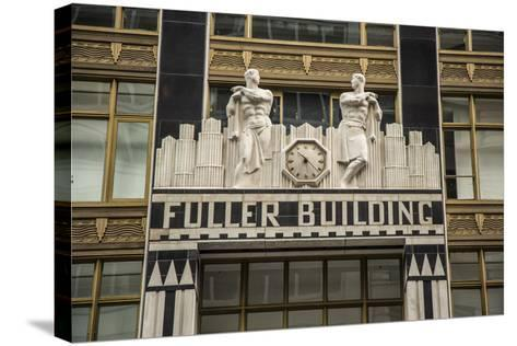 Fuller Building, Madison Avenue/57th Street, Manhattan, New York City, New York, USA-Jon Arnold-Stretched Canvas Print