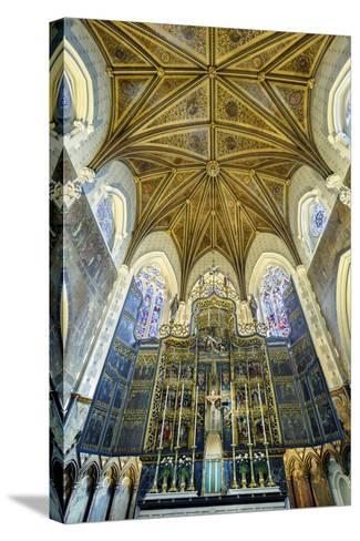 Europe, United Kingdom, England, Lancashire, Lancaster, Lancaster Cathedral-Mark Sykes-Stretched Canvas Print