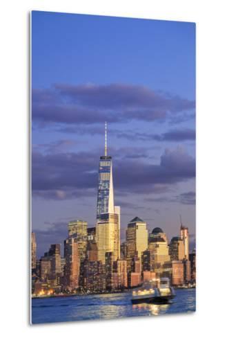 Usa, New York, New York City, Lower Manhattan Skyline-Michele Falzone-Metal Print