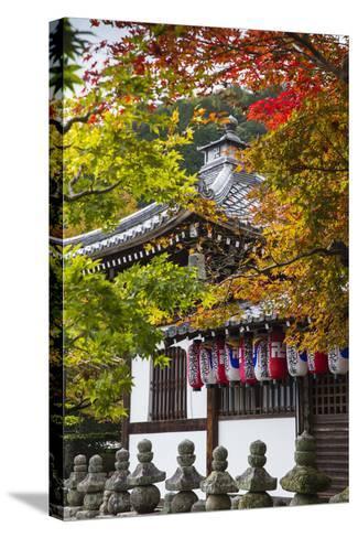 Japan, Kyoto, Arashiyama, Adashino Nenbutsu-Ji Temple-Jane Sweeney-Stretched Canvas Print