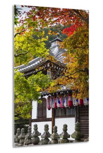 Japan, Kyoto, Arashiyama, Adashino Nenbutsu-Ji Temple-Jane Sweeney-Metal Print