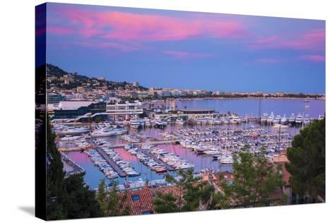 Le Vieux Port, Cannes, Alpes-Maritimes, Provence-Alpes-Cote D'Azur, French Riviera, France-Jon Arnold-Stretched Canvas Print
