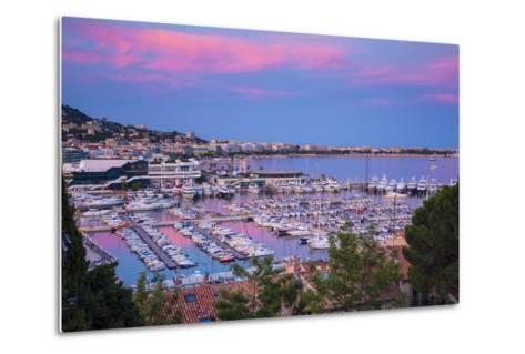 Le Vieux Port, Cannes, Alpes-Maritimes, Provence-Alpes-Cote D'Azur, French Riviera, France-Jon Arnold-Metal Print