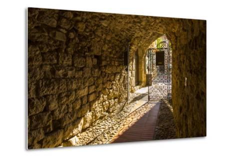 Eze, Alpes-Maritimes, Provence-Alpes-Cote D'Azur, French Riviera, France-Jon Arnold-Metal Print