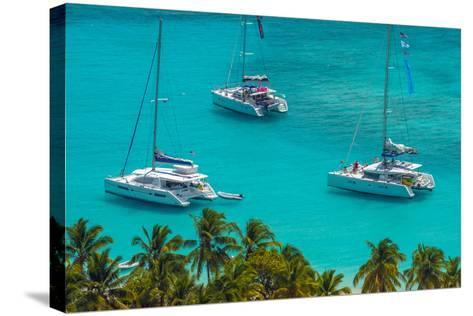 Caribbean, British Virgin Islands, Jost Van Dyke, White Bay-Alan Copson-Stretched Canvas Print