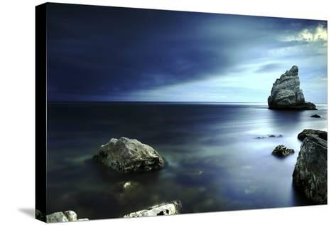 Sail Rock, Conero National Park, Marche, Italy-ClickAlps-Stretched Canvas Print