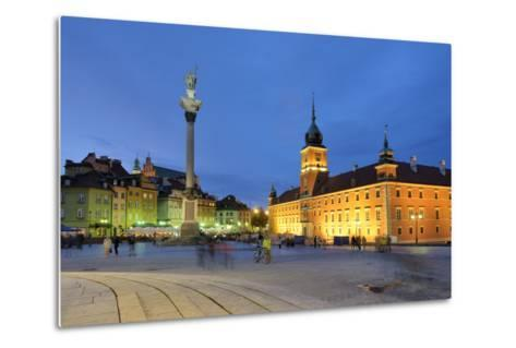 The Royal Castle (Zamek Krolewski) in Warsaw, a UNESCO World Heritage Site. Poland-Mauricio Abreu-Metal Print