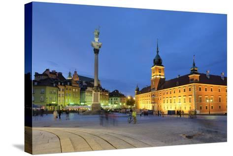 The Royal Castle (Zamek Krolewski) in Warsaw, a UNESCO World Heritage Site. Poland-Mauricio Abreu-Stretched Canvas Print