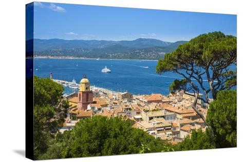 St. Tropez, Var, Provence-Alpes-Cote D'Azur, French Riviera, France-Jon Arnold-Stretched Canvas Print