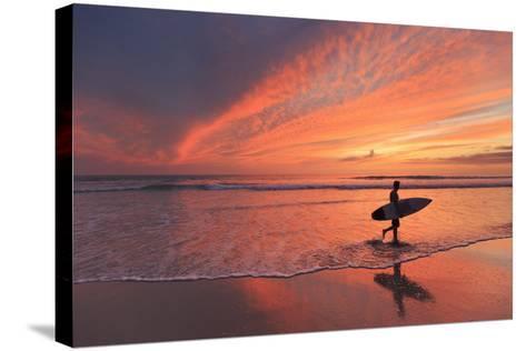 Costa Rica, Guanacaste, Nicoya Peninsula, Santa Teresa, Playa Santa Teresa-Michele Falzone-Stretched Canvas Print