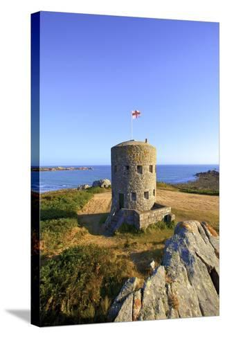 Martello Tower No 5, L'Ancresse Bay, Guernsey, Channel Islands-Neil Farrin-Stretched Canvas Print