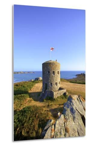 Martello Tower No 5, L'Ancresse Bay, Guernsey, Channel Islands-Neil Farrin-Metal Print