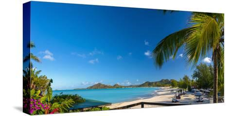Antigua, Jolly Bay Beach-Alan Copson-Stretched Canvas Print