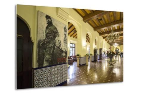 The Historic Hotel Nacional, Vedado, Havana, Cuba-Jon Arnold-Metal Print