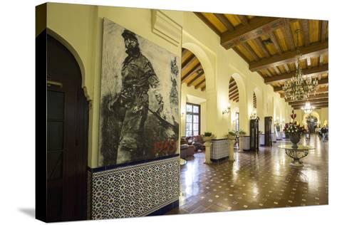 The Historic Hotel Nacional, Vedado, Havana, Cuba-Jon Arnold-Stretched Canvas Print