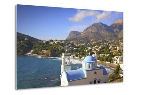 Church at Kantouni, Kalymnos, Dodecanese, Greek Islands, Greece, Europe-Neil Farrin-Metal Print