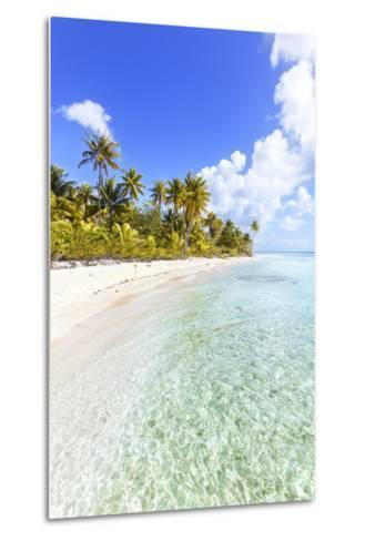 Sable Rose (Pink Sand) Beach in the Lagoon of Tikehau, French Polynesia-Matteo Colombo-Metal Print