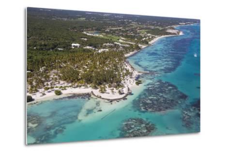 Dominican Republic, Punta Cana, View of Cap Cana, Juanillo-Jane Sweeney-Metal Print