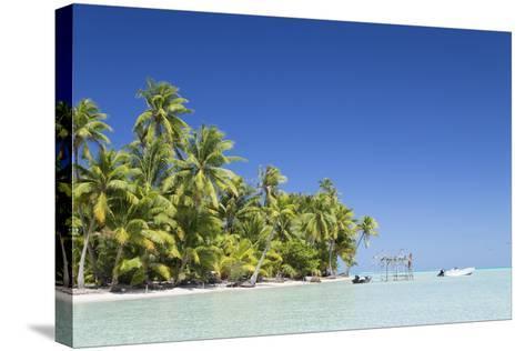 Motu Pit Aau, Bora Bora, Society Islands, French Polynesia-Ian Trower-Stretched Canvas Print