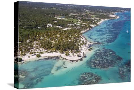 Dominican Republic, Punta Cana, View of Cap Cana, Juanillo-Jane Sweeney-Stretched Canvas Print
