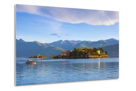 The Idyllic Isola Dei Pescatori and Isola Bella, Borromean Islands, Lake Maggiore, Piedmont, Italy-Doug Pearson-Metal Print