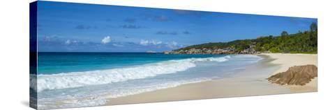 Petite Anse Beach, La Digue, Seychelles-Jon Arnold-Stretched Canvas Print