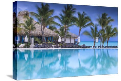 Dominican Republic, Punta Cana, Cap Cana, Swimmkng Pool at the Sanctuary Cap Cana Resort and Spa-Jane Sweeney-Stretched Canvas Print