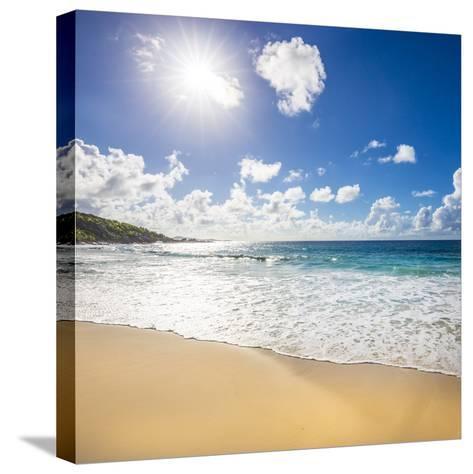 Grand Anse Beach, La Digue, Seychelles-Jon Arnold-Stretched Canvas Print