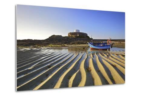 Fort Grey, Rocquaine Bay, Guernsey, Channel Islands-Neil Farrin-Metal Print
