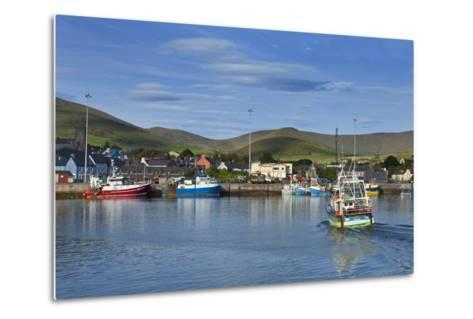Fishing Harbour in Dingle Town, Dingle Peninsula, County Kerry, Ireland--Metal Print