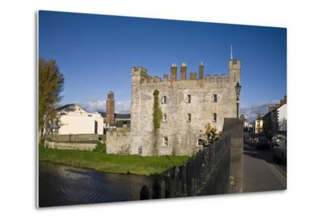 White's Castle,Bridge over the River Barrow,Athy, Co Kildare, Ireland--Metal Print