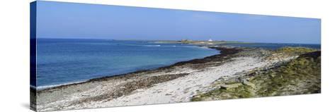 Start Point Lighthouse, Sanday, Orkney Islands, Scotland--Stretched Canvas Print