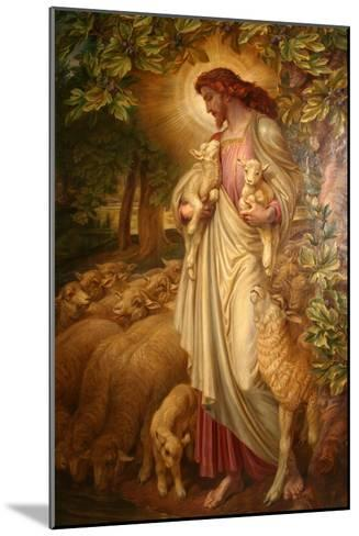 The Good Shepherd-Frederick James Shields-Mounted Giclee Print
