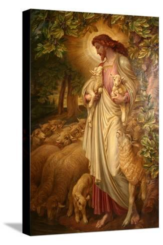 The Good Shepherd-Frederick James Shields-Stretched Canvas Print