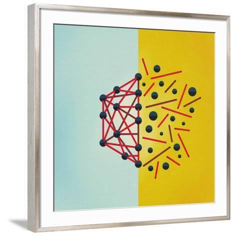 Wired-Mark Weaver-Framed Art Print