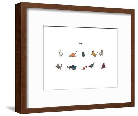 Wired-David M. Galletly-Framed Art Print