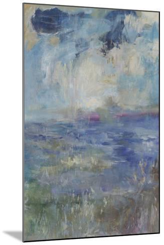 Blue Rain Shower-Jodi Maas-Mounted Giclee Print