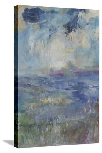 Blue Rain Shower-Jodi Maas-Stretched Canvas Print