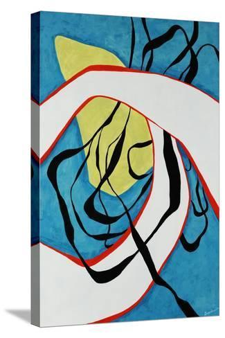 Blue Scene-Jolene Goodwin-Stretched Canvas Print