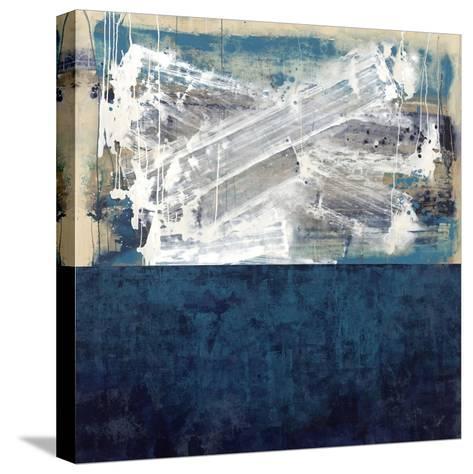 Blue Wash-Kari Taylor-Stretched Canvas Print