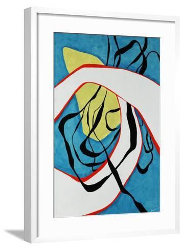 Blue Scene-Jolene Goodwin-Framed Art Print