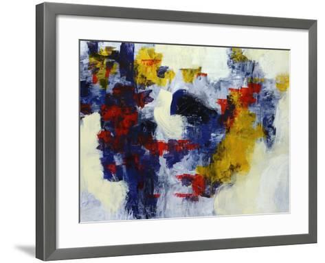 Bippity Bop Blue-Jolene Goodwin-Framed Art Print