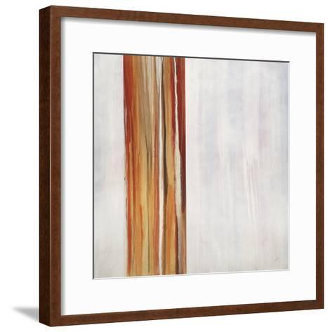 On the Grid-Kari Taylor-Framed Art Print