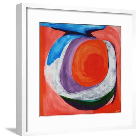 Pink Question-Jolene Goodwin-Framed Art Print