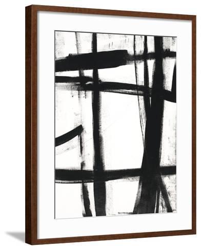 Expessive Silence I-Sydney Edmunds-Framed Art Print