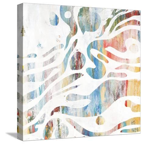 Pretty Carousel II-Rikki Drotar-Stretched Canvas Print
