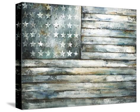 Patriotic Glory-Sydney Edmunds-Stretched Canvas Print