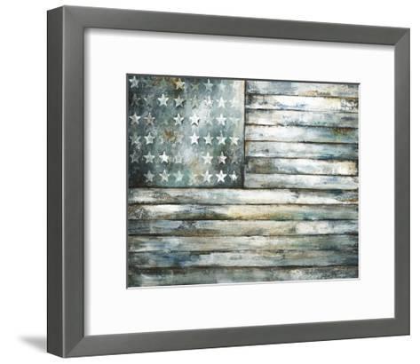 Patriotic Glory-Sydney Edmunds-Framed Art Print