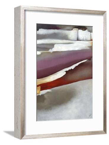 Stratum of Hues I-Rikki Drotar-Framed Art Print