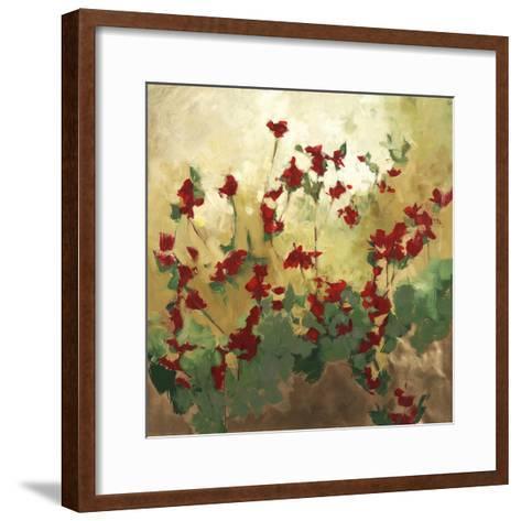 Cranberry Garden-Kari Taylor-Framed Art Print